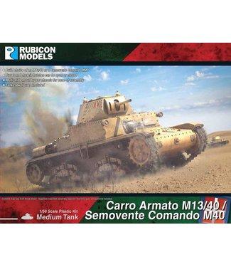 Rubicon Models Carro Amato M13/40 / Semovente Comando M40