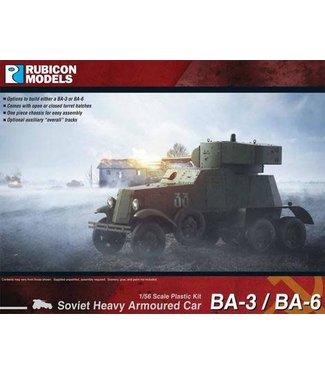 Rubicon Models BA-3 / BA-6 Heavy Armoured Car
