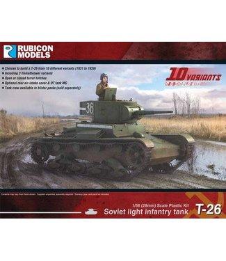 Rubicon Models Soviet T-26 Light Infantry Tank