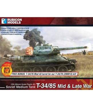 Rubicon Models T-34/85 - Mid & Late War