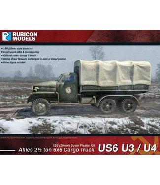 Rubicon Models Allies 2½ ton 6x6 Truck US6 U3/U4