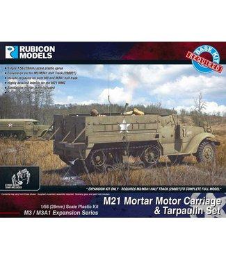 Rubicon Models M3/M3A1 Expansion Kit - M21 MMC & Tarpaulin Set