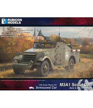 Rubicon Models M3A1 Scout Car (Early & Late production)