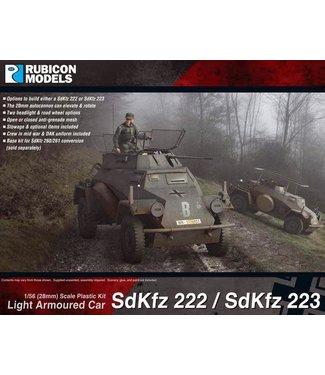 Rubicon Models SdKfz 222/223 Light Armoured Car