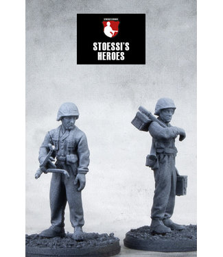 Stoessi's Heroes German Sturmmann Otto Funk & Grenadier Klaus Schuh