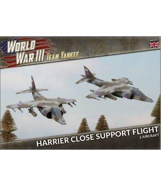 World War III Team Yankee Harrier Close Air Support Flight (Plastic)