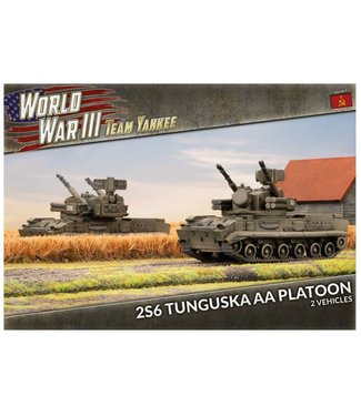 World War III Team Yankee 2S6 Tunguska AA Platoon