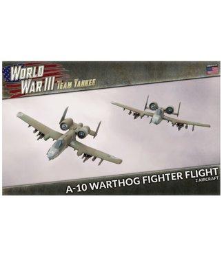World War III Team Yankee A-10 Warthog Fighter Flight (Plastic)