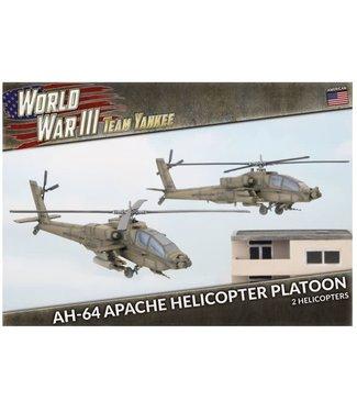 World War III Team Yankee AH-64 Apache Helicopter Platoon (Plastic)