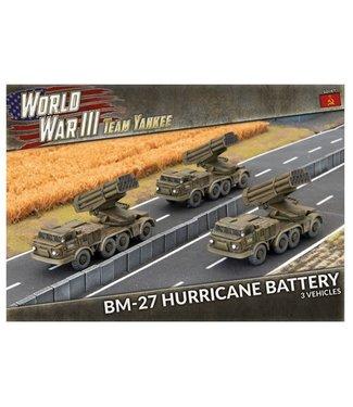World War III Team Yankee BM-27 Hurricane Battery