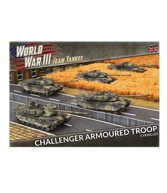 World War III Team Yankee Challenger Armoured Troop (Plastic)