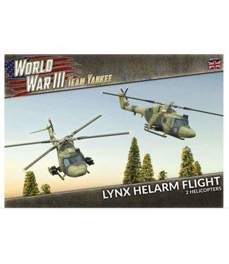 World War III Team Yankee Lynx HELARM Flight (Plastic)