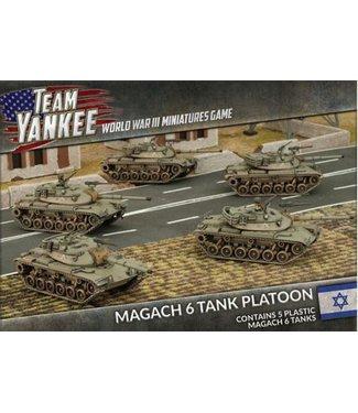 World War III Team Yankee Magach 6 Tank Platoon