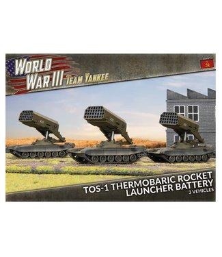 World War III Team Yankee TOS-1 Thermobaric Rocket Launcher Battery