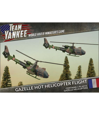 World War III Team Yankee Gazelle HOT Helicopter Flight