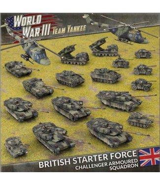 World War III Team Yankee British Starter Force: Challenger Armoured Squadron