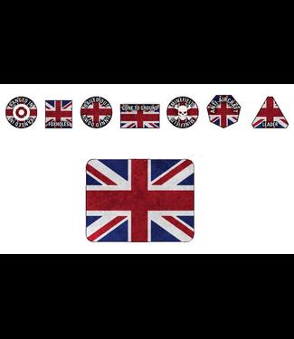 World War III Team Yankee British Token Set (New set)