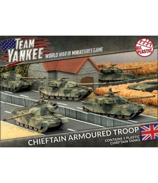 World War III Team Yankee Chieftain Armoured Troop (Plastic)