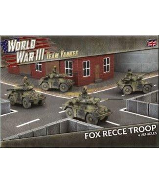 World War III Team Yankee Fox Recce Troop (Plastic)