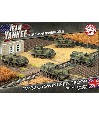 World War III Team Yankee FV432 or Swingfire Troop (Plastic)