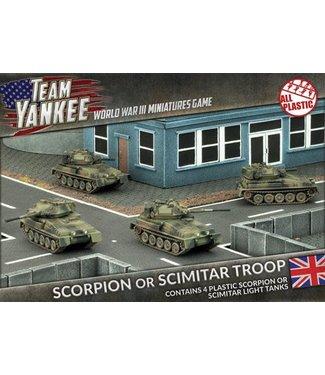 World War III Team Yankee Scorpion or Scimitar Troop (Plastic)