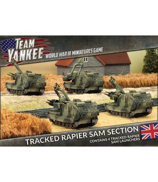 World War III Team Yankee Tracked Rapier SAM Section