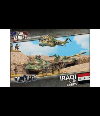 World War III Team Yankee Iraqi Unit Cards