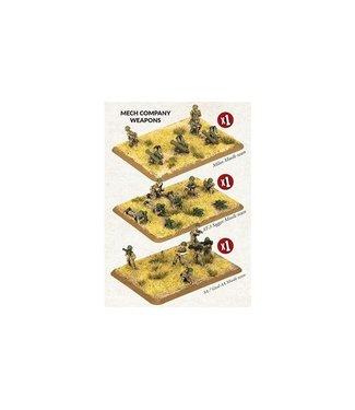 World War III Team Yankee Mech Company Weapons (Iraq)