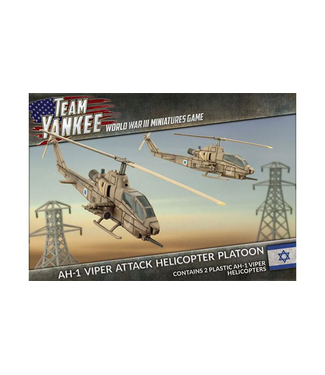 World War III Team Yankee AH-1 Viper Attack Helicopter Platoon
