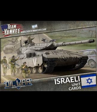 World War III Team Yankee Israeli Unit Cards
