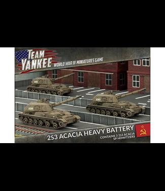 World War III Team Yankee 2S3 Acacia Heavy SP Howitzer Battery