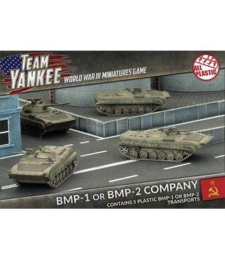 World War III Team Yankee BMP-1 or BMP-2 Company (Plastic)