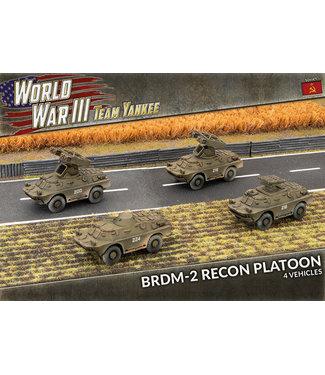World War III Team Yankee BRDM-2 Recon Platoon (Plastic)