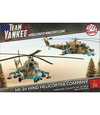 World War III Team Yankee Mi-24 Hind (plastic)