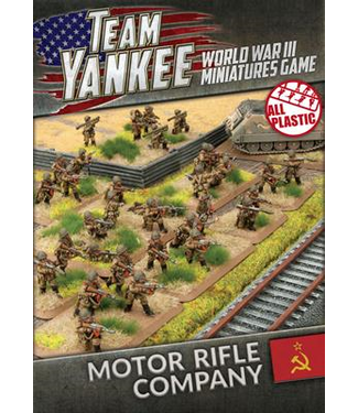 World War III Team Yankee Motor Rifle Company (Plastic)
