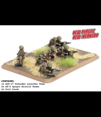 World War III Team Yankee Motor Rifle Heavy Weapons (Plastic)