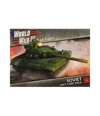 World War III Team Yankee Soviet Unit Card Pack