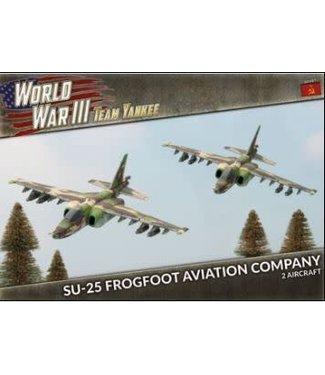 World War III Team Yankee SU-25 Frogfoot Aviation Company (Plastic)