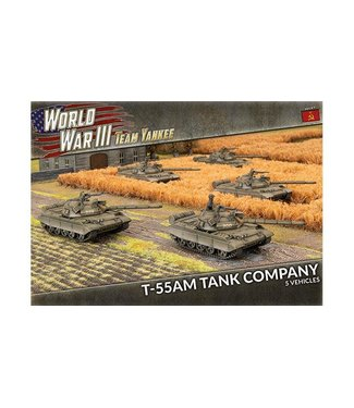 World War III Team Yankee T-55 Tank Company (Plastic)