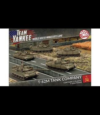 World War III Team Yankee T-62M Tank Company