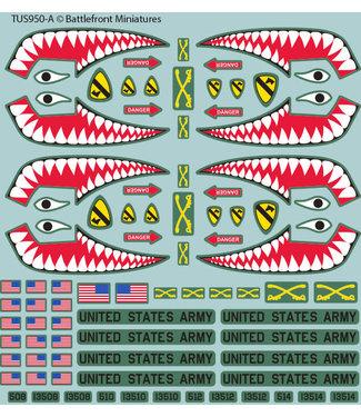 World War III Team Yankee American Decal Set