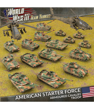 World War III Team Yankee American Starter Force: Armoured Cavalry Troop