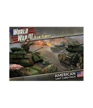 World War III Team Yankee World War III: American Unit Card Pack