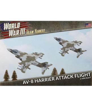 World War III Team Yankee AV-8 Harrier Attack Flight (Plastic)