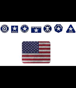 World War III Team Yankee American Token Set