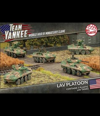 World War III Team Yankee LAV Platoon (Plastic)