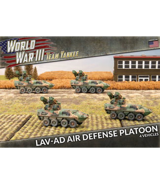 World War III Team Yankee LAV-AD Air Defense Platoon