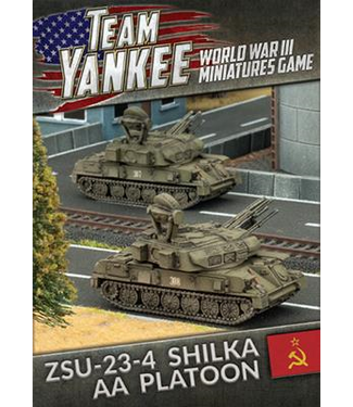 World War III Team Yankee ZSU 23-4 Shilka