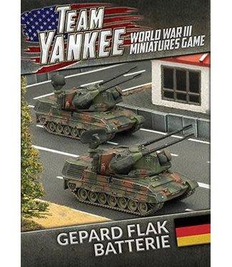 World War III Team Yankee Gepard Flakpanzer Batterie