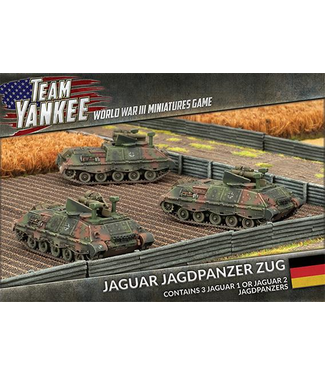 World War III Team Yankee Jaguar Jagdpanzer Zug